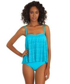 Athena Cabana Babydoll Tankini and Tab Side Bikini Bottom