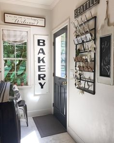 Julie's fresh laundry room sure has elegant style & character! Thx for including AFH in your French Country Style, French Country Decorating, Rustic Style, Antique Farmhouse, Country Farmhouse, Farmhouse Signs, Farmhouse Ideas, Cabin Style Homes, Amazing Decor