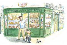 Jo sort d'une boulangerie parisienne !