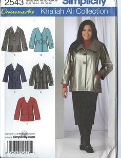 2009 Simplicity Khaliah Ali Collection  Pattern by Devereauxart, $6.00