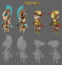 3d Model Character, Character Modeling, Character Creation, Game Character, Character Design, Modelos Low Poly, Modelos 3d, Chibi Characters, Cute Characters