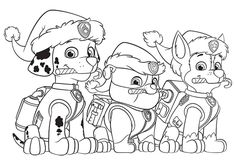 Paw Patrol Christmas Coloring Pages Pdf. Paw Patrol Ghost Patrol Now it's dog time, and the Paw Patrol's beloved puppies are ready to lead a search and rescue mission for more Recycling guru . Easter Coloring Pages Printable, Paw Patrol Coloring Pages, Dog Coloring Page, Cartoon Coloring Pages, Coloring Pages To Print, Coloring Book Pages, Coloring Pages For Kids, Printable Christmas Coloring Pages, Coloring Sheets