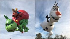 The Grinch, Frozen's Olaf among new balloons debuting at Macy's parade 2017