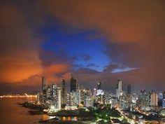 Panama City Skyline, Panama from Webshots