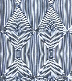 Nate Berkus Home Decor Print Fabric-Linea Paramount Caspian