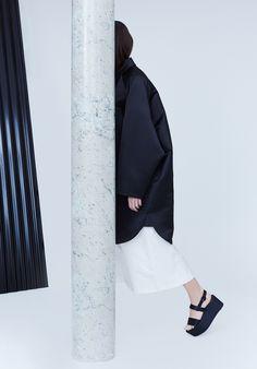 Pola Thomson Fall/Winter 2014-15 Photography – Claudio Robles & Tomas Meersohn Designer – Pola Thomson Model – Jovanka at WLM Hair + Make Up...