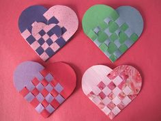 Wind Rose Fiber Studio: Swedish Woven Paper Hearts - With Some Great Links