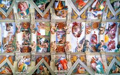sistine chapel ceiling - Google Search