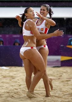 Brazil's Liliana Fernandez Steiner. Beach Volleyball player. 5'10, 165 lbs. Super fit & bootylicious!