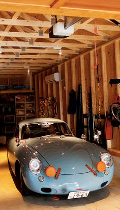 Irikawa-san has beaten me to the colourway for a future 356 replica in the garage.