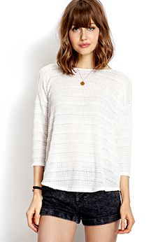 Easy Striped Sweater | FOREVER21 - 2000124709
