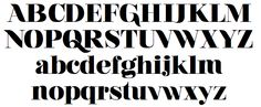 From Airbag to Znikomit, A Designer's Favorite Fonts for 2014 — Medium