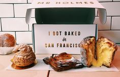 Mr.Holmes Bakehouse  1042 Larkin St. San Francisco, CA 94109