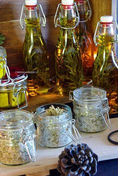 Sal Aromatizado com Oregãos, Queijo de Cabra em Azeite e Oregãos, Azeite Aromático com Especiarias e Ervas Aromáticas