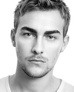 Tom Austen - about the finest pair of brows I've seen on a man.