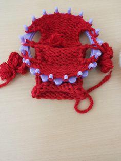 Lavorare a maglia con il knitting loom e realizzare un maglione per la bambola!