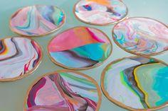 How to: Marble Coasters | Sarah Johnson