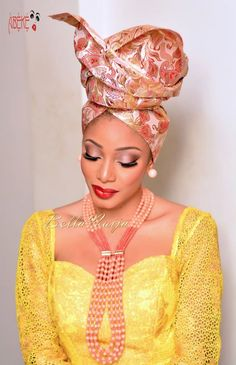 Avant-Garde Geles tied by AbekeOniGeleAra ~African fashion, Ankara, kitenge… African Dresses For Women, African Print Fashion, African Wear, African Attire, African Women, African Prints, Estilo Hippie, African Head Wraps, African Beauty