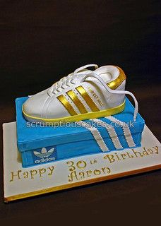 Birthday Cake (702) - Adidas Trainer by Scrumptious Cakes (Paula-Jane), via Flickr