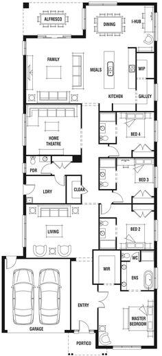 Nine Dale Alcock Homes Single Storey House Modern Pinterest
