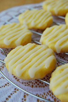 Lemon Butter Cookies / Sablés Au Citron