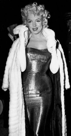 Marilyn Monroe - Cat on a Hot Tin Roof premiere.
