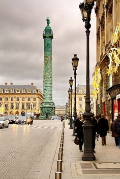 Place Vendôme in Paris