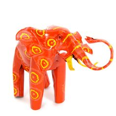 Mbare: Painted Tin Elephant,