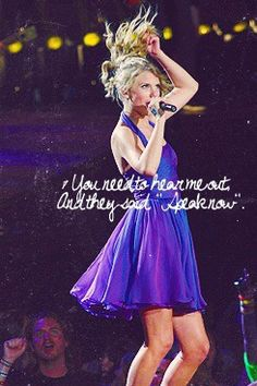 Speak Now Song Taylor Swift