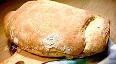 Filone di pane casareccio | Le fragranti delizie