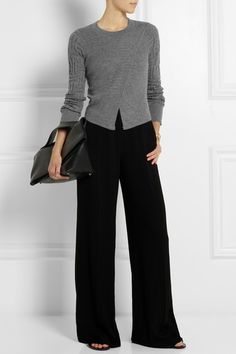 Maiyet wrap-effect cashmere sweater, 2014