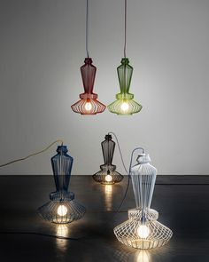 Sketch lamp collection by Studio Beam