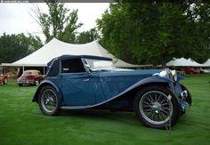 1939 MG TB Tickford Image