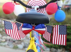 Fourth of July Decorations on Pinterest | Fourth of July, Burlap ...