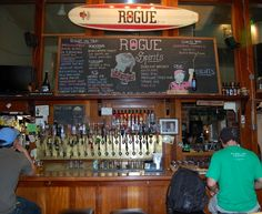 Rogue Public House in Portland. I have also been to the one in SF.