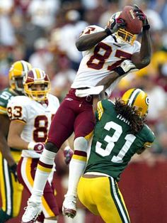 Washington Redskins WR #87 Rod Gardner (2001-2004) Photo by Harry E. Walker https://www.fanprint.com/licenses/green-bay-packers?ref=5750