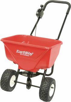 Earthway Plus Deluxe Estate Broadcast Seed Fertilizer Spreader Pack)