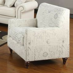 Wildon Home ® Capetown Linen Blend Chair - $388.99
