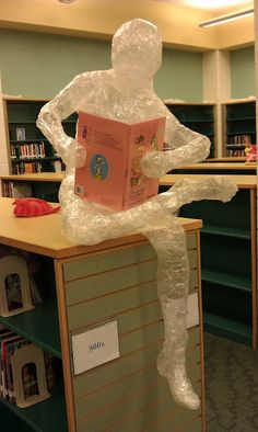 Yep! So doing this for the talent/art show this year! Packing tape sculptures!