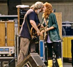 Jerry and Bonnie Raitt