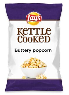 Wouldn't Buttery popcorn be yummy as a chip? Lay's Do Us A Flavor is back, and the search is on for the yummiest chip idea. Create one using your favorite flavors from around the country and you could win $1 million! https://www.dousaflavor.com See Rules.