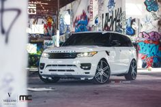 """2014 Range Rover l Vellano VM14 24"""" Monoblock  this Amazing piece of German Engineering Perfection was customize by our friends over at MC customs. Photography By William Stern."""