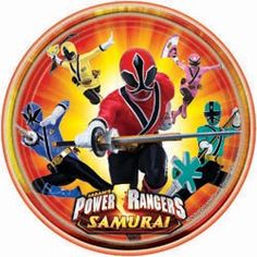 Power Rangers Dinner Plates - 9in (8 Pack) | $2.50 | http://www.discountpartysupplies.com/boy-party-supplies/power-rangers-party-supplies/power-rangers-dinner-plates.html