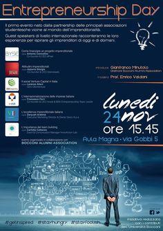 """Locandina """"Entrepreneurship Day"""""""