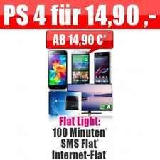 Internetflat, SMS flat , inkl. Top Smartphone oder PS4 !!NUR 14,99 ,- mtl.