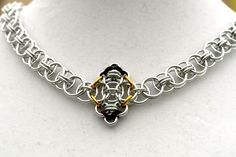 Aileen - Aluminum Helm chain necklace, via Etsy.