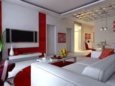 Wohnzimmereinrichtung Ideen Braunnuancen Schne Wandgestaltung