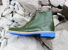 The Japanese wet weather shoemaker takes liquid plastic and makes them resemble leather for fully waterproof dress shoes.
