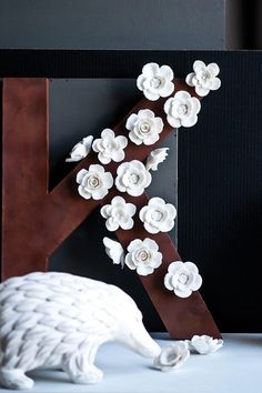 White Floral Magnets - Set of 3 by The Homeport Collections on @HauteLook