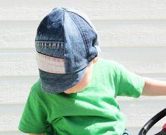 DIY Toddler Cap #easysewing